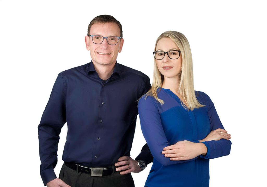 Foto Herr Schmidt und Frau Müller