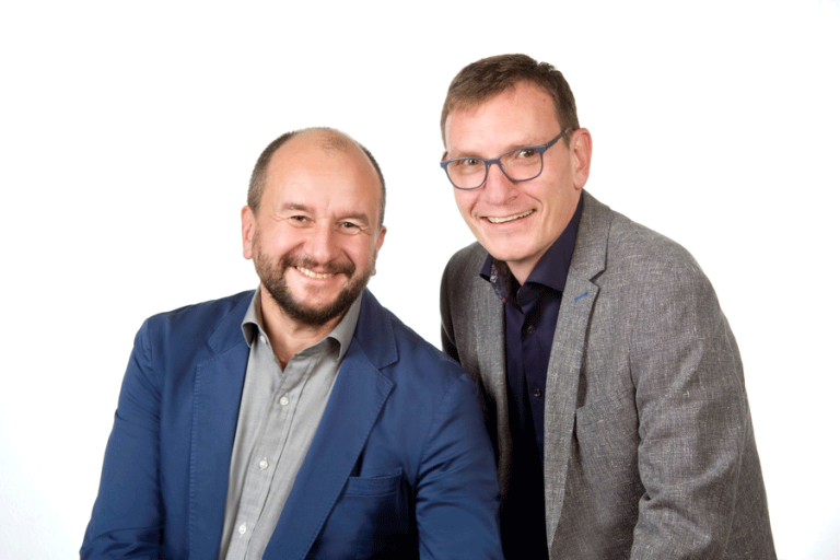Foto Herr Keller und Herr Schmidt