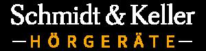 Logo-Schriftzug von Schmidt & Keller Hörgeräte