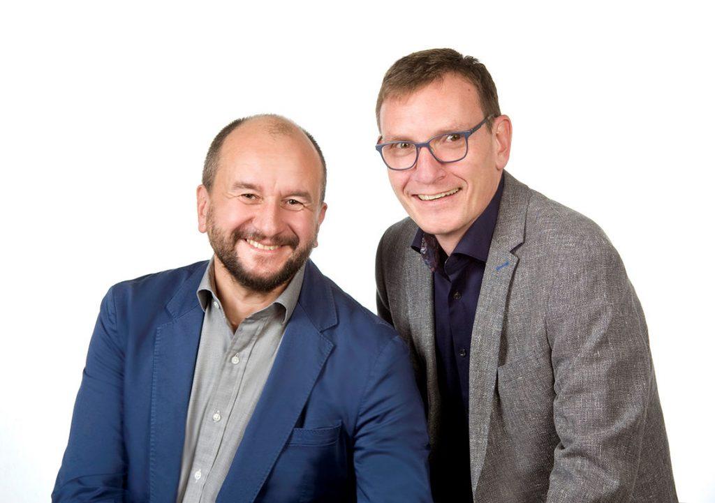 Foto Herr Keller und Herr Schmidt freuen sich auf Ihre Bewerbung