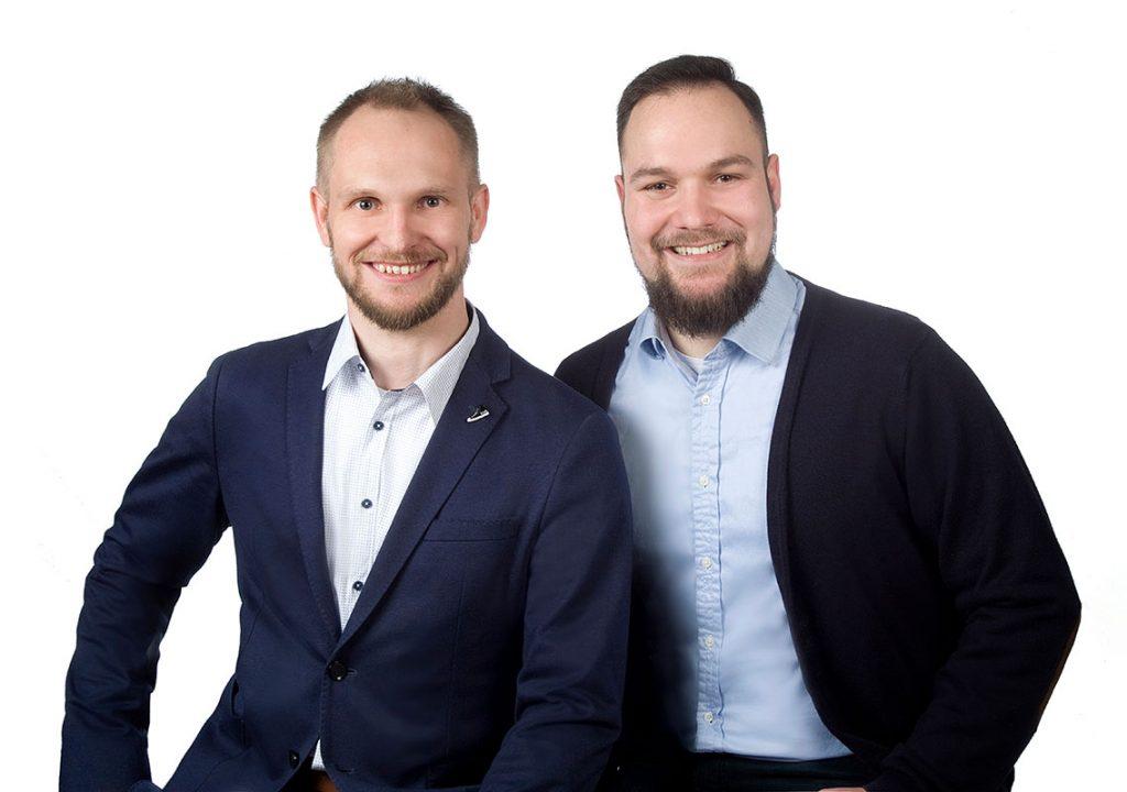 Foto Herr Martin und Herr Lausberg